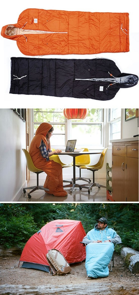 Napsack by Poler. Basically a better snuggie.