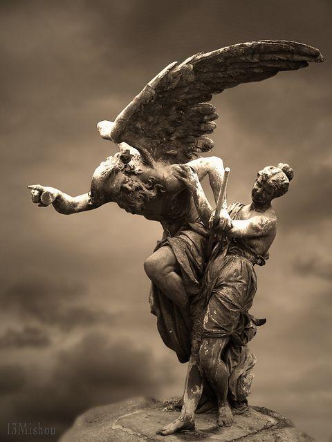 Populaire Oltre 25 straordinarie idee su Angeli del cimitero su Pinterest  HJ98