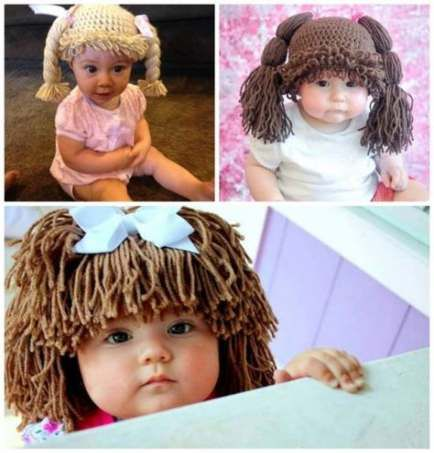 41 Ideas crochet doll hair tutorial cabbage patch for 2019