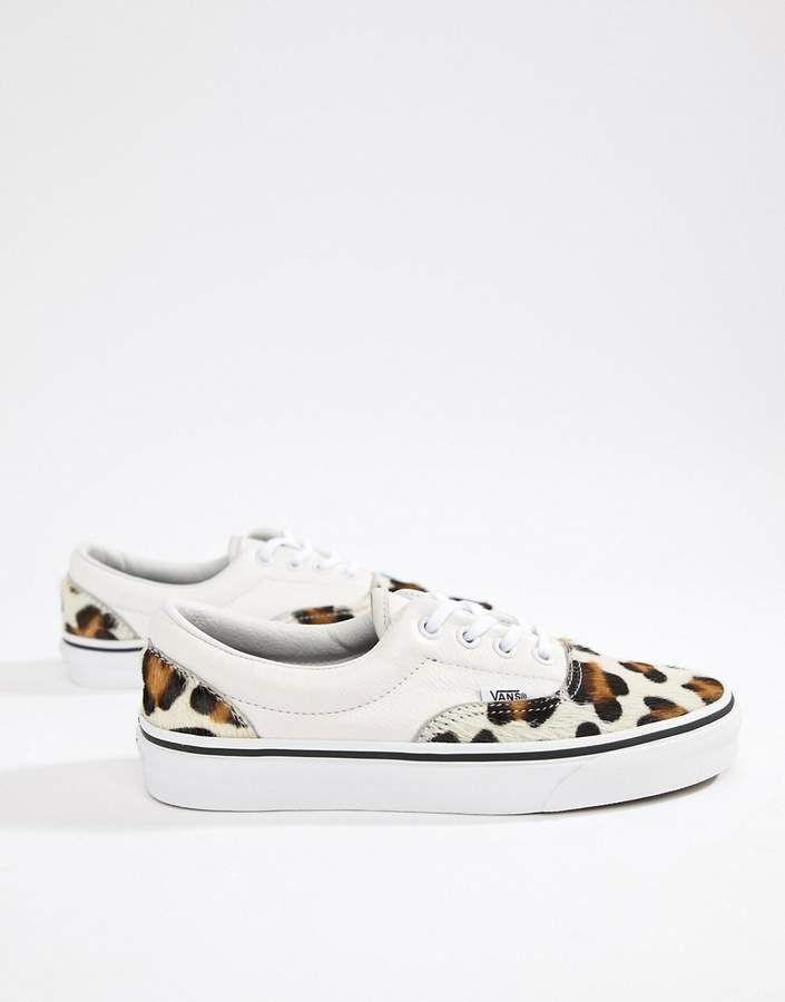 e0cb10cf6e4a Vans Leopard Print Era Sneakers #Leopard#Vans#Print | Animals in ...