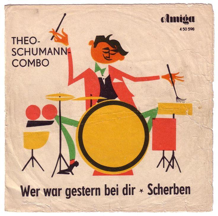 Theo Schumann Combo Wer War Gestern Bei Dir Scherben