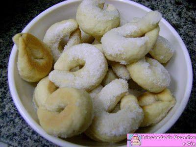 Brincando de Cozinhar e Cia: Bolachinha de Pinga da Vó Luzia