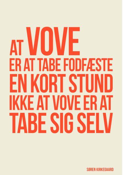 Kirkegaard citat