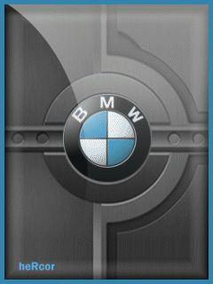 Animación bmw logo gif hc para celular