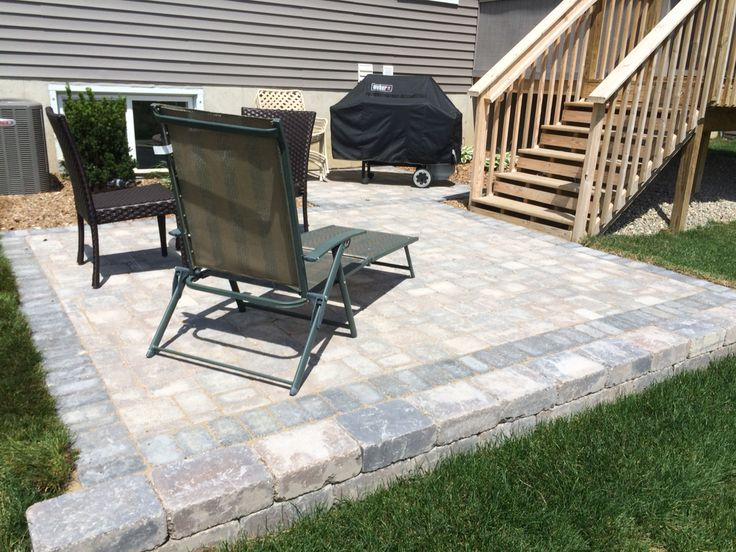small brick paver patio brick pavers pinterest bricks and patio