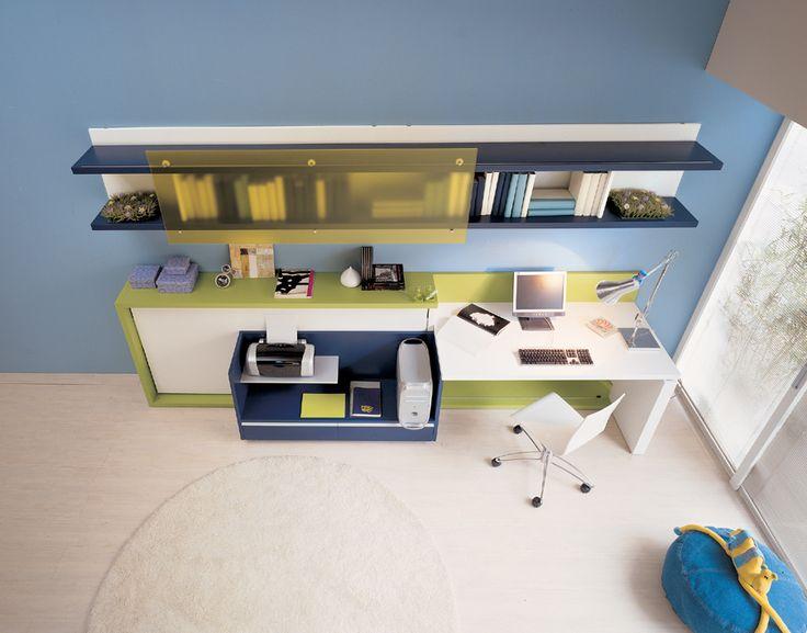 15 Smart and Brilliant Teen Room Design Ideas From Clei - teen study area : 15 Smart and Brilliant Teen Room Design Ideas From Clei – teen study area