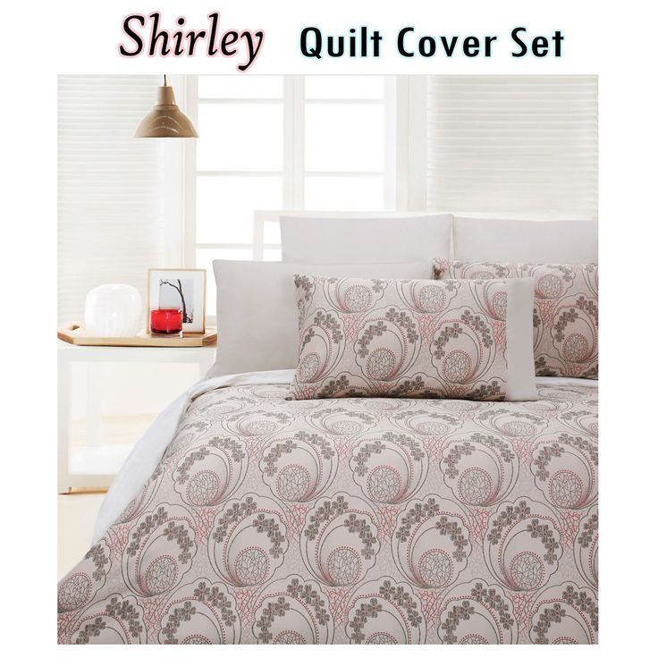 300TC Shirley Quilt Cover Set by Accessorize