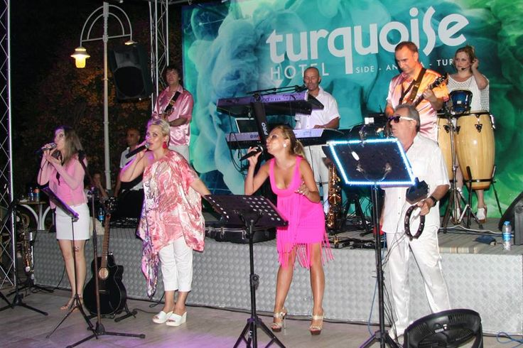 Live music - concert of RED ROCK at Hotel Turquoise (photo taken by our guest Geert).