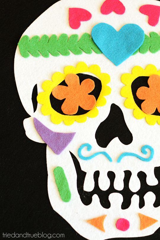 halloween marcapaginas calaveras mexicanas - Buscar con Google