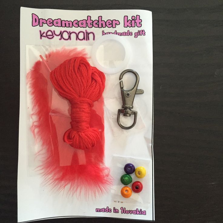 A personal favorite from my Etsy shop https://www.etsy.com/listing/245632092/dreamcatcher-keychain-diy-kit