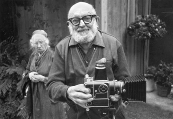 ansel adams and imogen cunningham, 1975 • alan ross