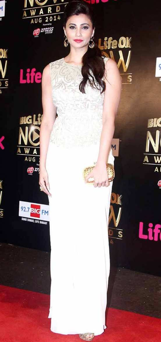 Daisy Shah at Big Life OK Now Awards 2014
