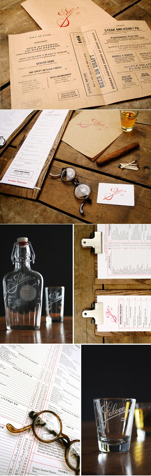 Art of the Menu - 10 of the Most Inspiring Menu & Restaurant Brandings