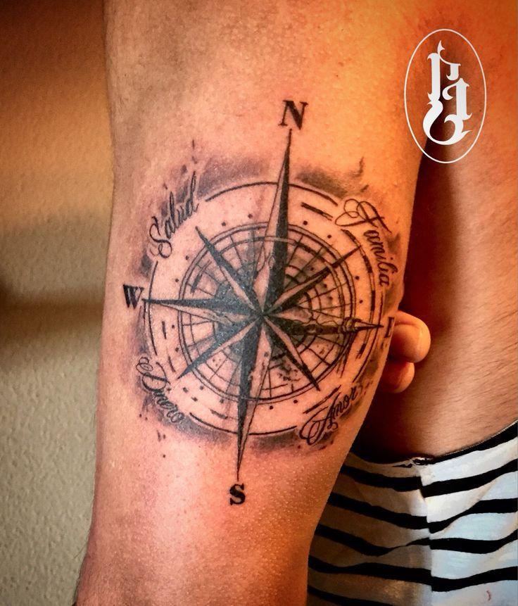 Tattoo Brujula Compass Tattoo Tattoos For Guys Shoulder Sleeve