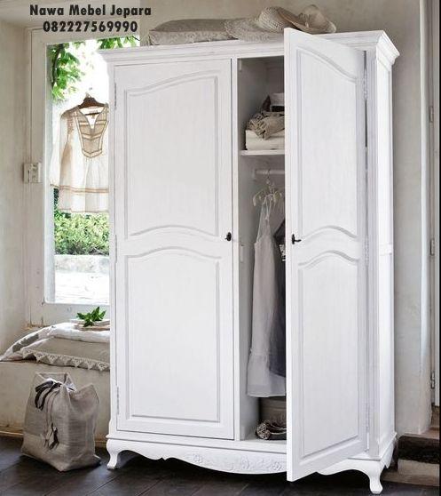 Lemari Pakaian Minimalis 2 pintu Putih Terbaru, jasa pembuatan lemari minimalis dengan model yang sesuai dengan keinginan anda yang cocok untuk menghiasi kamar anda, model yang terlihat elegan warna putih yang sangat mewah