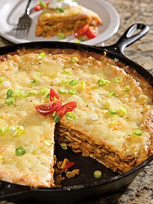 Mexican Taco Pie. Perfect for Cinco de Mayo, or a quick meal.