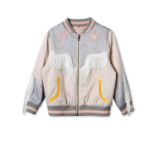 Shop the Dot Cowgirl Bomber Jacket by Stella Mccartney Kids at the official online store. Discover all product information.