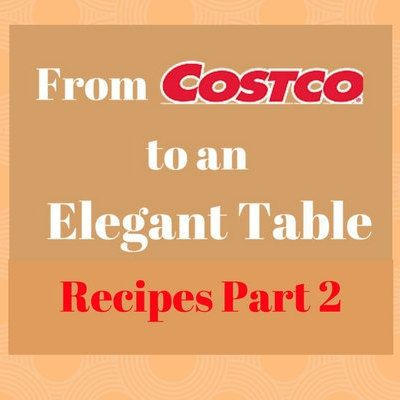 Costco Recipes Part 2 E-Book PDF Instant Digital Download by BestBeadedBling on…