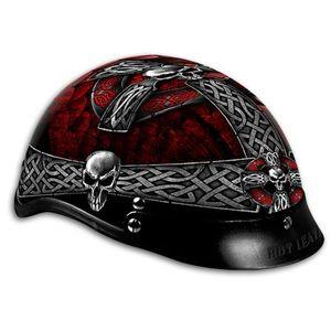 Celtic Cross DOT Motorcycle Helmet - LOVE it