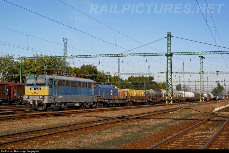 RailPictures.Net Photo: 348 Hungarian State Railways (MÁV) 431 / ex-V43 at Békéscsaba, Hungary by Máté Szilveszter