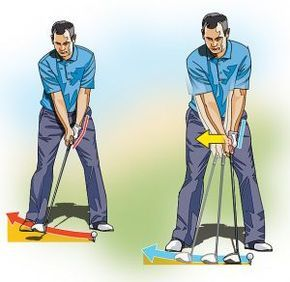 HIGH HANDICAPPER: Get a Grip on Your Takeaway Many golfers abruptly snatch the club away at the start of the takeaway, cupping their left wrist. This lifting action creates a number of different problems, most notably a narrowing of your swing's arc and an open clubface. To maximize your power, you need to swing the club back on a slower, wider arc, so that your left wrist remains firm and doesn't break down. To prevent this early wrist break, focus on moving the butt end of the grip away…