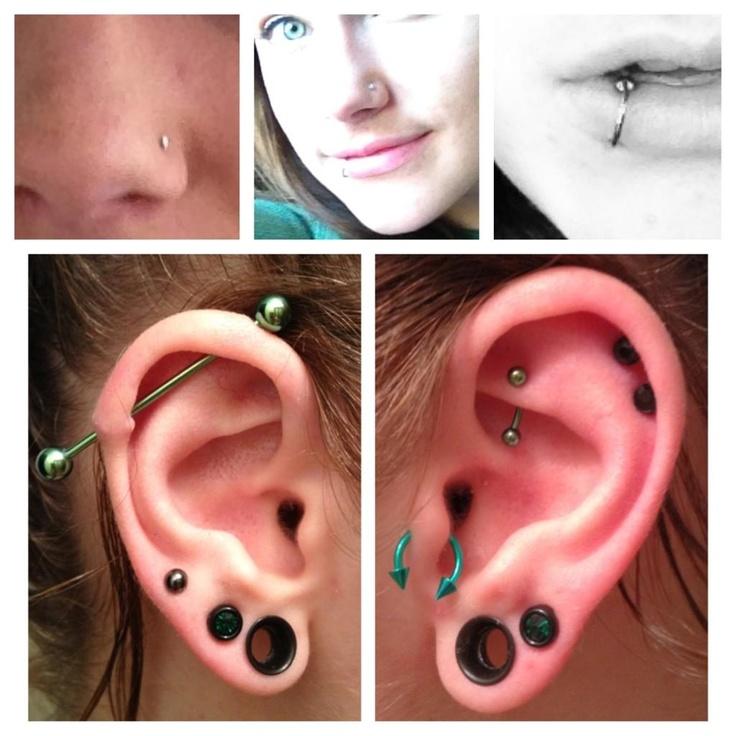 Body piercings body jewellery ear piercings