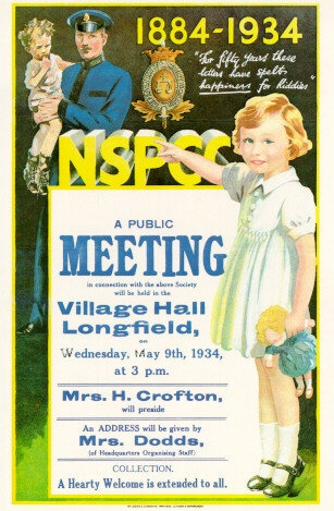 NSPCC Poster from 1939.