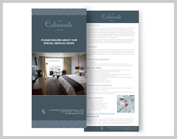 Best Hotel Rack Cards Images On   Card Designs Card