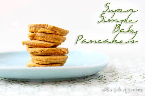 2+ Ingredient baby pancakes & pancake muffins