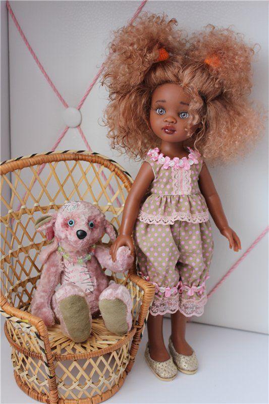 Еще одна переделочка. ООАК куклы Паоло Рейна. Мулатка / Paola Reina, Antonio Juan и другие испанские куклы / Бэйбики. Куклы фото. Одежда для кукол