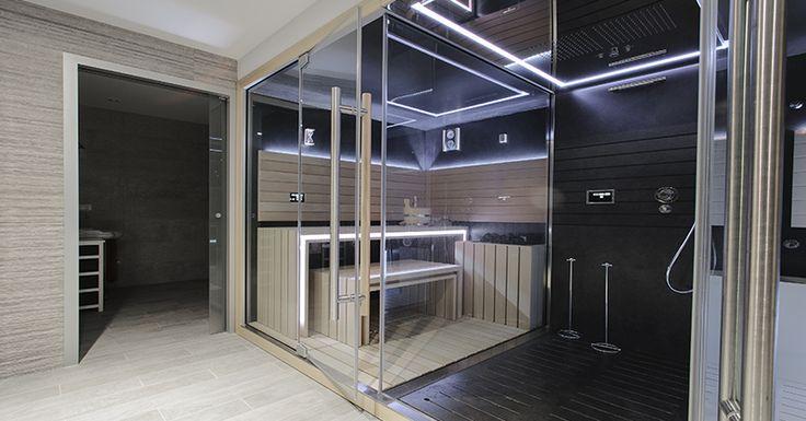 Unsere letzt gebaute Sauna! Inspiration für Ihre eigene Heimsauna!  http://saunaking.at/individuelle-saunen/photogalerie-referenzen/privatsaunen