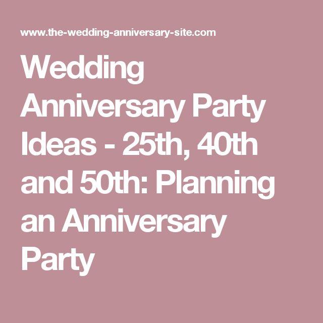 25th Wedding Anniversary Gifts Pinterest : anniversary parties 25th anniversary gifts wedding anniversary wedding ...