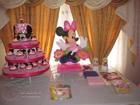 65 best images about decoracion para fiestas on pinterest for Decoracion minnie mouse