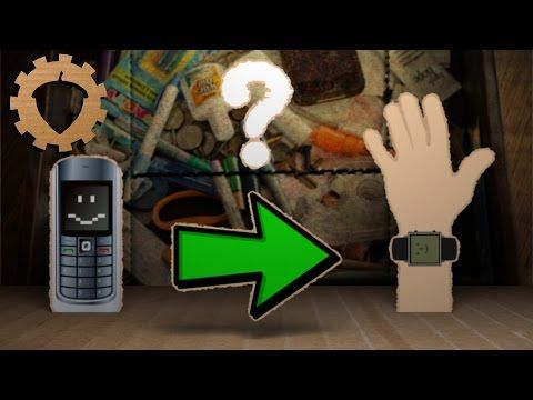 A Hacked-Up Old Nokia Phone Makes the Ultimate DIY Smartwatch