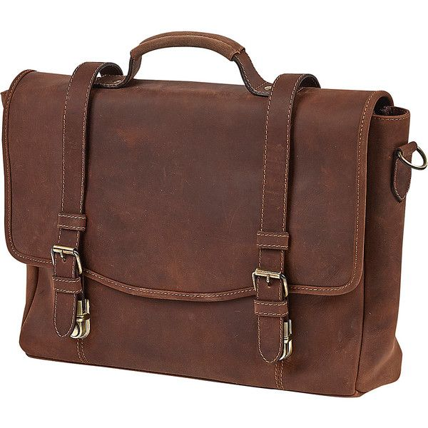 ClaireChase Rustic Messenger - Rustic Brown - Messenger Bags ($251) ❤ liked on Polyvore featuring bags, messenger bags, brown, brown laptop bag, laptop messenger bags, laptop courier bag, courier bags and brown bag
