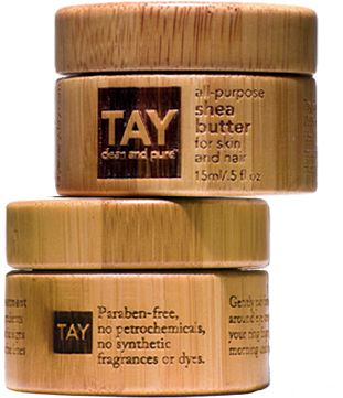 TAY clean and pure...these products seem amazing anyway, but even MORE amazing b/c they say my name :)