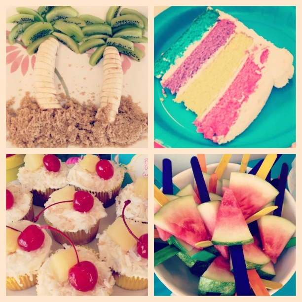 Luau On A Budget, Finger Foods, Snacks, Birthday Party