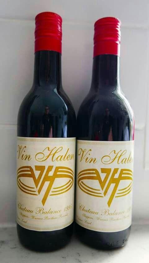 Van Halen Wine