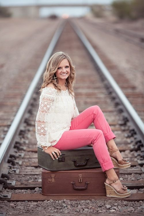 Senior photo ideas ~ Going places ♥♥ read this article first http://www.ppmag.com/web-exclusives/2014/07/