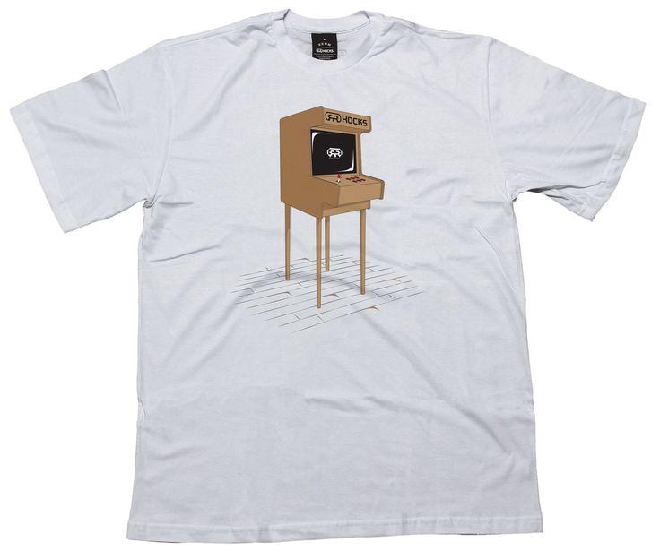 Camiseta Arcade - v16 - Games