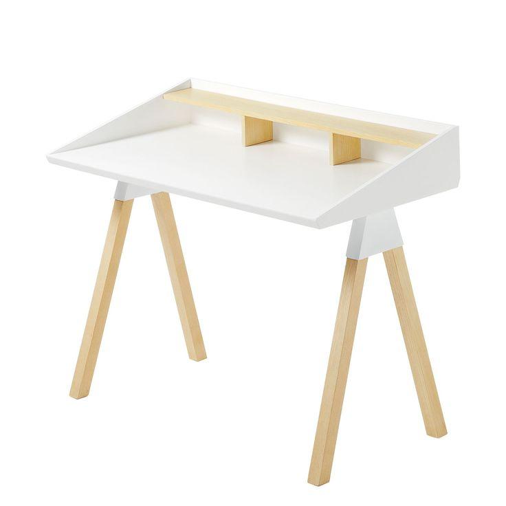 Schreibtisch Limatola   Pappel Teilmassiv   Weiß / Pappel, Morteens Jetzt  Bestellen Unter: Https