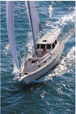 Sail Far Live Free - Sailboats, Sailing News, and Gear: A Proper StinkPot: Top 5 Pilothouse Motorsailers