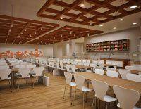 Projeto de Decoração de Interiores para Renovação de Refeitório, Lanchonete e Cafeteria de empresa de Telemarketing – Bairro Barra Funda – SP