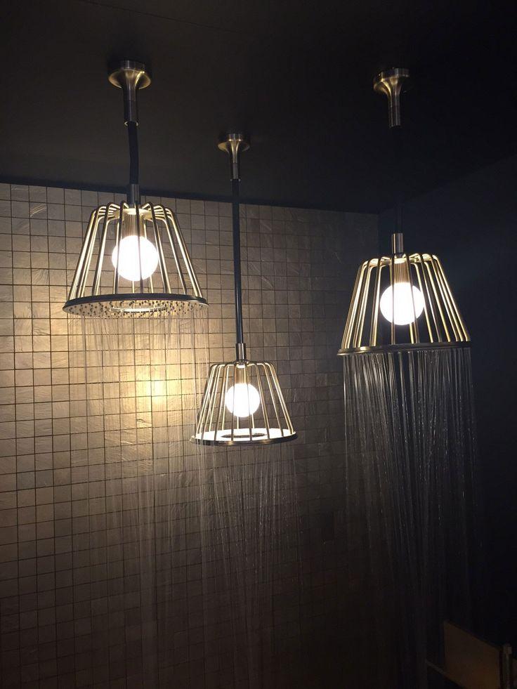Hansgrohe Nendo showerheads #ISH15