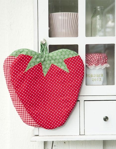 Jordbærgrydelapper - Hendes Verden