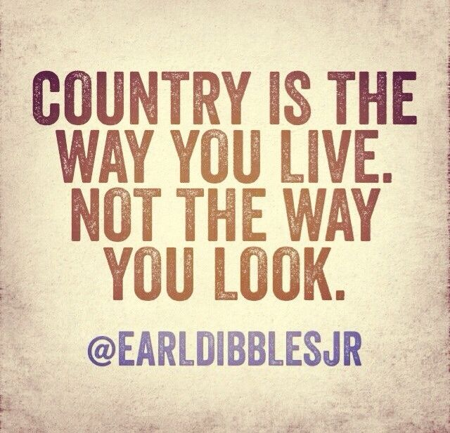 Country...