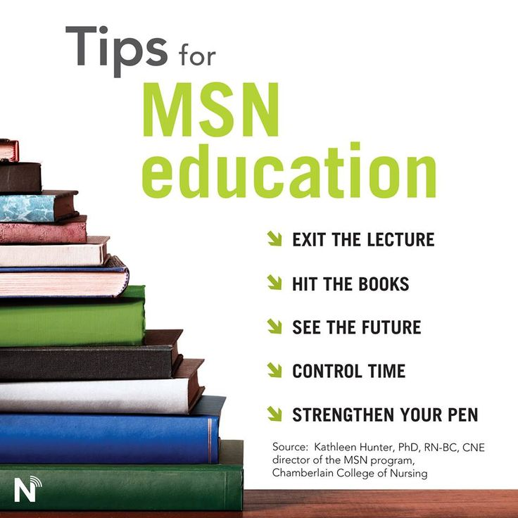 Chamberlain College of Nursing MSN Program Director Kathleen Hunter, PhD, RN-BC, CNE, offers tips on getting the most from an MSN program.