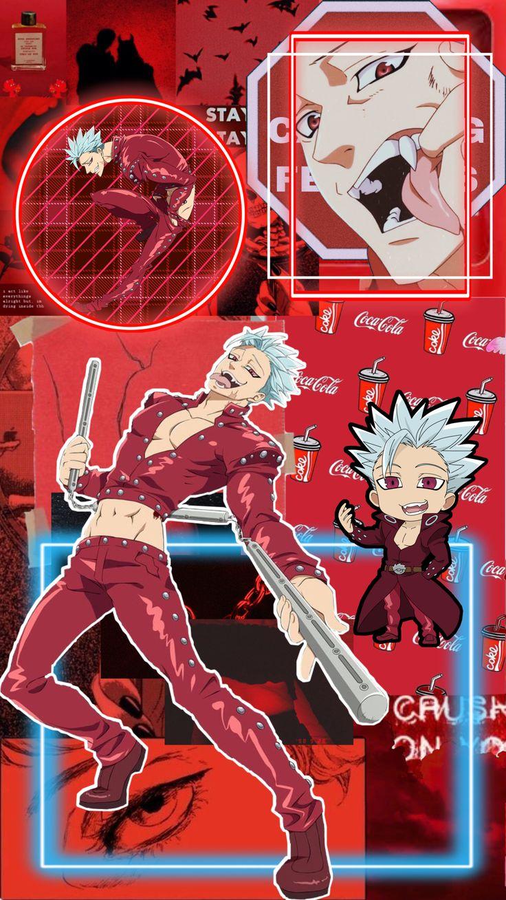 ban wallpaper! in 2020 Cute anime wallpaper, Anime