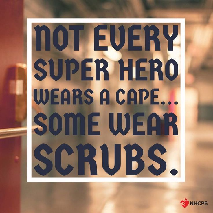 Not every superhero wears a cape... Some wear SCRUBS!  Tag a superhero nurse…