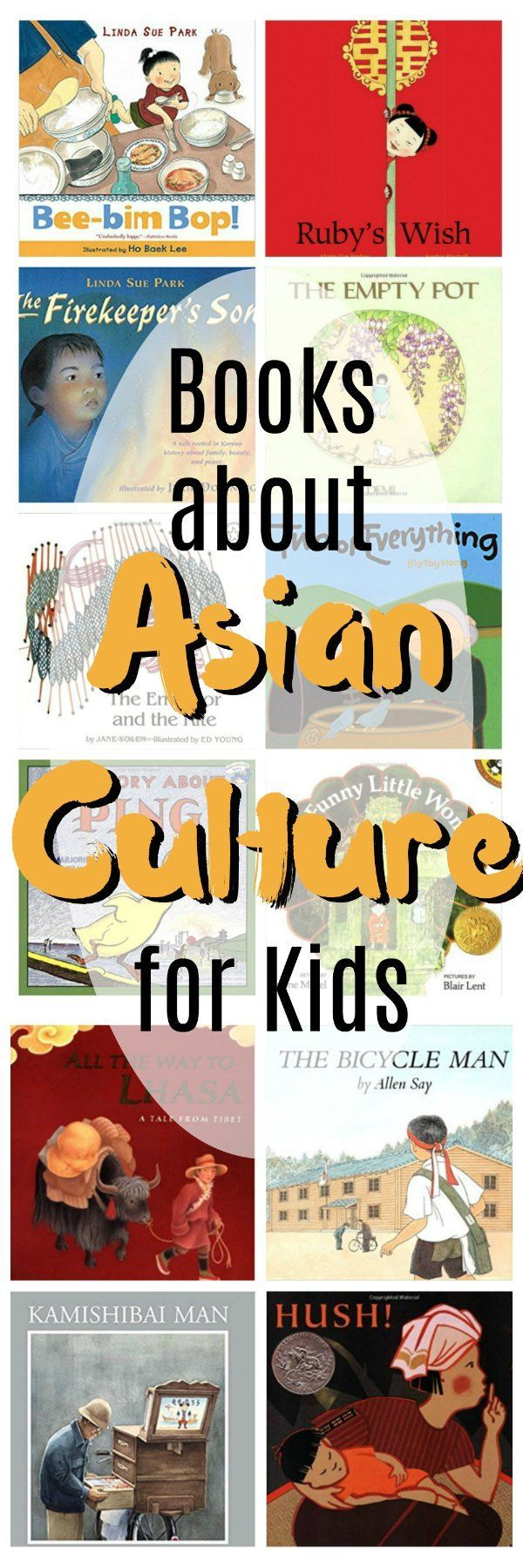 Picture books about Asia for grade schoolers. Countries included are China, Japan, Korea and Thailand and even Tibet. #Asia